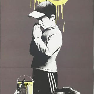 Banksy x Don't Panic - Forgive us our trespassing / Exit through the gift shop