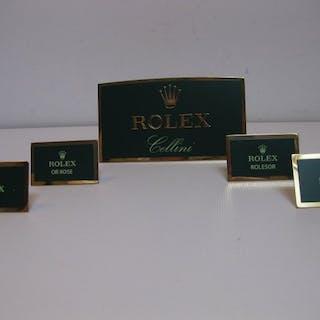 Rolex - 5 targhette esposizione Rolexdiv. modelli - Unisex - 2011-present