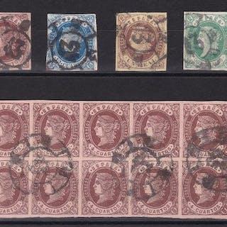 España 1862 - Isabel II