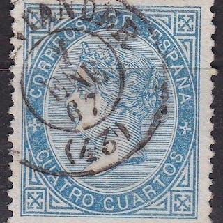 España 1867 - Isabel II