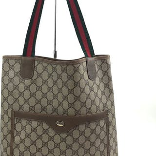 8eaf8cf8894 Gucci - GG Pattern-Old Gucci- Tote bag