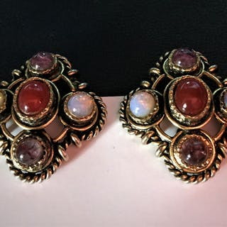 Christian Dior - collection Vintage 1970/75 Earrings