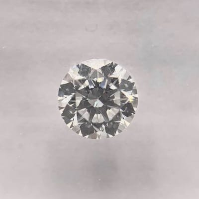 Diamante - 0.57 ct - Brillante, Rotondo - D (incolore) - VVS1