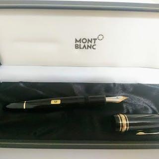 Montblanc - Penna Stilografica Meisterstück Gold - Pennino M