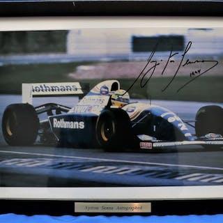Williams-Renault - Formula One - Ayrton Senna - 1994 - Photograph