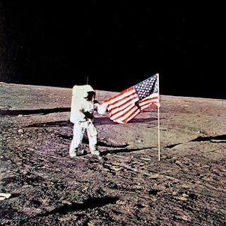 NASA- (10x) Apollo 12 'Lunar Landing' picture set, 1969
