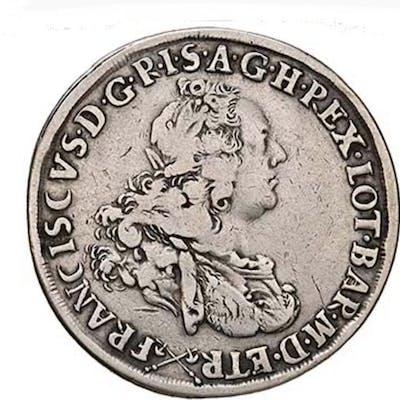 Italia, Firenze - Francescone 1765 Francesco I Imperatorie  - Argento