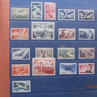 France 1936/1959 - posta aerienne - Yvert lot