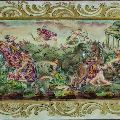 Capodimonte - Bassorilievi in porcellana (2) - Porcellana