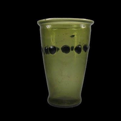 Fantastic Roman Transparent Yellow Green GlassBeaker