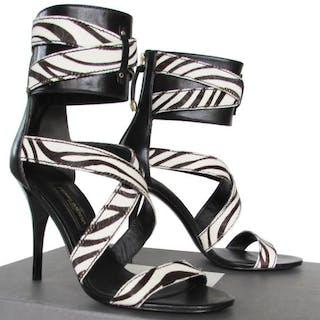 2b8d6d0b32a Balmain - New - Never Used - Real Pony Fur - Luxury Heels.