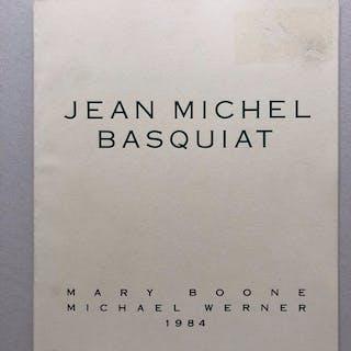 Mary Boone / Michael Werner Gallery- Jean Michel Basquiat- 1984