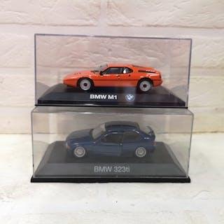 Minichamps - Shuco - 1:43 - BMW M1 & BMW 323ti porte apribili