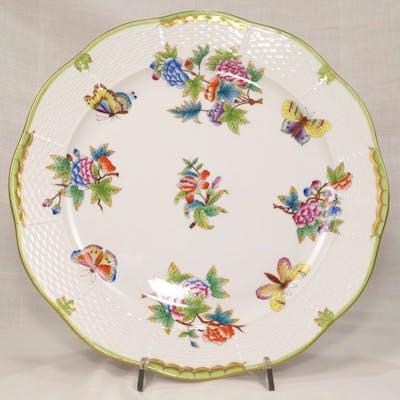 Queen Victoria 156/VBO - Herend - Grande piatto ø cm. 32,5 (1) - Porcellana