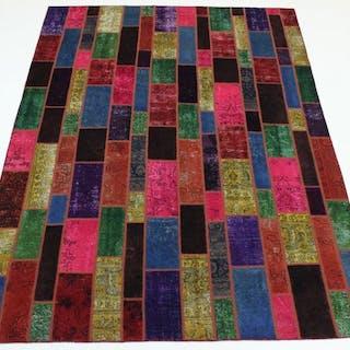 Patchwork - Teppich - 346 cm - 251 cm