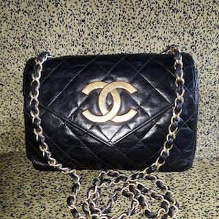 058df355f Chanel - Envelope flap gold 24kt Crossbody bag