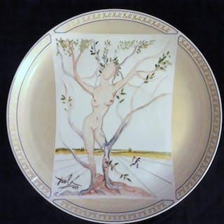Salvador Dalì - Italcambio  - Piatto - Porcellana
