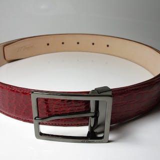 S.T.Dupont Krokodil Leder NEU - 56125 Belt