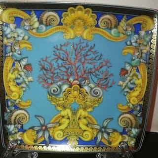 Versace - Rosenthal - Piatto - Les Tresors de la Mer - Porcellana