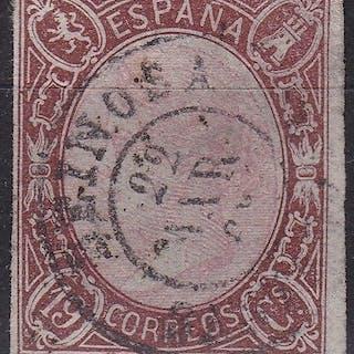 España 1865 - Isabel II