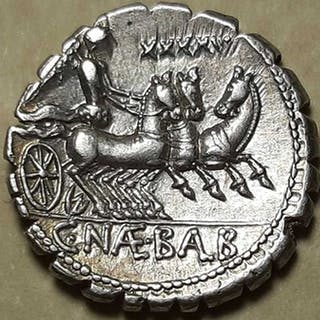 Repubblica romana - Denario, Gens Naevia. C. Naevius Balbus, 79 a.C. - Argento