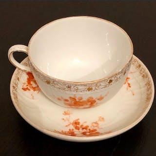 Neuosier Cup and Saucer Wilhelm II - Porcelain