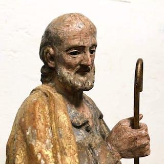 Sculpture - Wood - 17th century