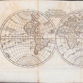 Brouckner Traduzione Laurence Echard - Dizionario Geografico Portatile - 1800