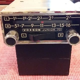 Radio - VOXON JUNIOR 70 - 1965-1970