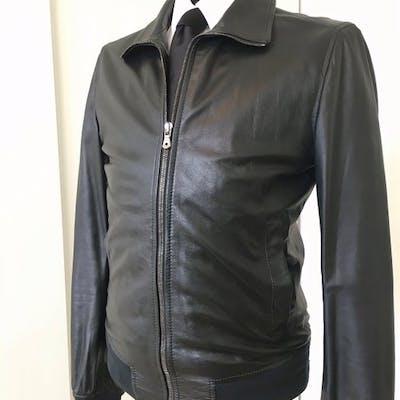 0ecb1343c Dolce & Gabbana - Leather jacket - Size: EU 48 (IT 52 - ES/FR 48 ...