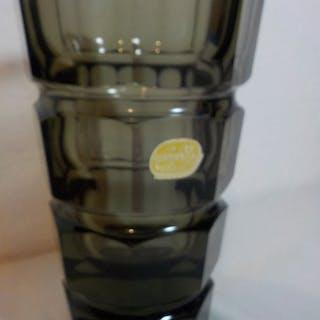 Vase (1) - Glas (Buntglas)