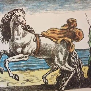 Giorgio De Chirico - Cavallo con manto