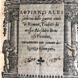 Appiano Alessandrino - Delle guerre civili de Romani