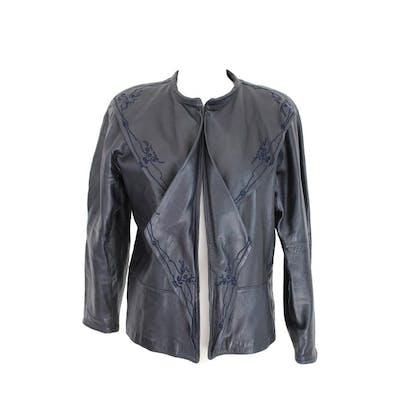 845bde703 Versace - Leather jacket - Size: EU 38 (IT 42 - ES/FR 38 - DE/NL 36 ...