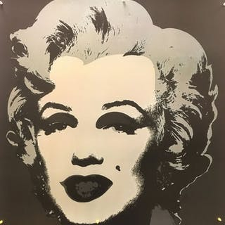 "Andy Warhol - Marilyn Monroe ""Anthracite"" (1967)- 1993"