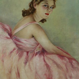 Pal Fried (1893-1976) - Ballerina