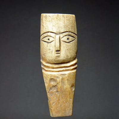 Egyptian Coptic Bone Doll Barnebys