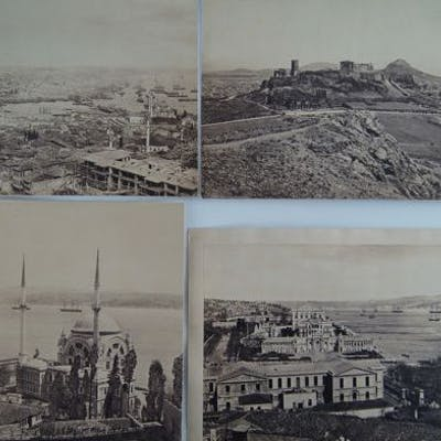 Francis Frith (1822-1898) - Constantinople et Athènes