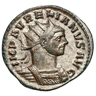 Impero romano - AE Antoninian, Aurelianus (270-275). Rom, SOL - Top