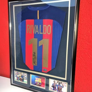 FC Barcelona - Spanish Football League - Rivaldo - Jersey