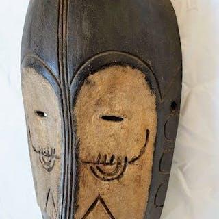 Masque - Bois dur - NGIL FANG - Gabon