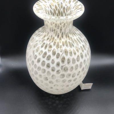 Large Murrina Millefiori Vase 30cm Vase Glass Barnebys