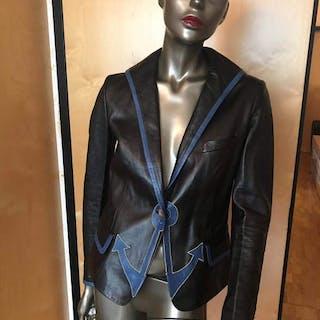 dc416431279 Yves Saint Laurent - Leather jacket - Size: S