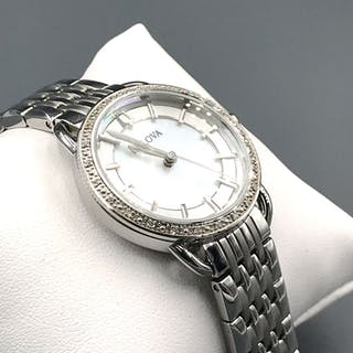 Bulova - Lady steel silver diamont - C6691003 - Women - 2011-present