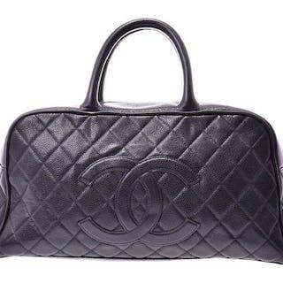 270e244891ea24 Chanel - Bowler Caviar Patent LargeHandbag – Current sales – Barnebys.com