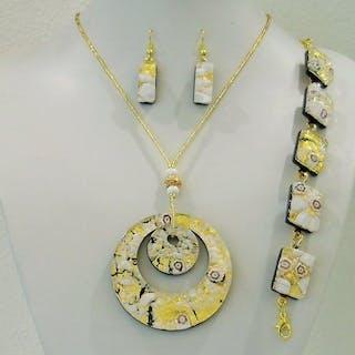 5a7d495af92e RUBELLI VETRI D ARTE- Murano - Pendant with collar beads – Current sales –  Barnebys.com