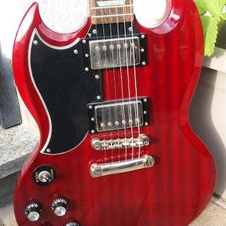 Epiphone, SG Pro G 400 - G 400Lefthand - Six-neck guitar - China - 2014