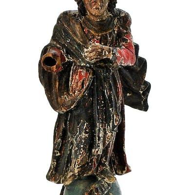 Sculpture, Virgin - Baroque - Wood - Second half 18th century