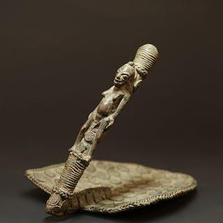 Sculpture - Bronze - Benin - Nigeria – Current sales
