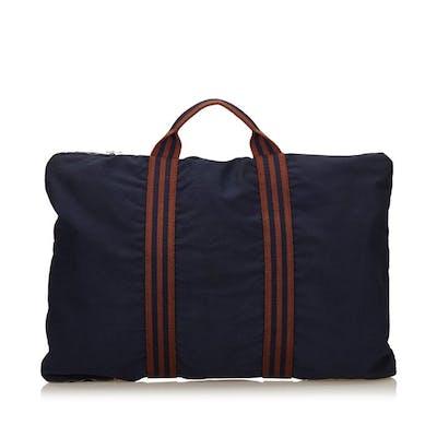 Hermes - Fourre Tout Canvas Briefcase Business Bag
